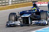 Team Williams F1, Bruno Senna, 2012 — Zdjęcie stockowe