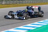 Team Williams F1, Bruno Senna, 2012 — Stock Photo
