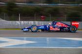 Team Toro Rosso F1, Daniil Kvyat, 2014 — Stock Photo
