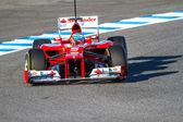 Scuderia ferrari f1, fernando alonso, 2012 — Zdjęcie stockowe