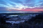Sunrises on the bay of Cadiz — Stock Photo