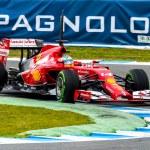 Постер, плакат: Team Scuderia Ferrari F1 Fernando Alonso 2014