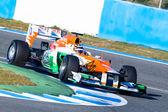 Team Force India F1, Nico Hülkenberg, 2012 — ストック写真