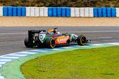 Team Force India F1, Daniel Juncadella, 2014 — ストック写真