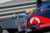 チーム マクラーレン f1、ルイス ・ ハミルトン、2012年 — ストック写真