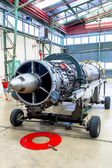 Turbine SNECMA Atar 09K50 of the Mirage F1 — Stock Photo