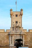 Doors of Earth of Cadiz, Spain — Stock Photo