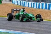 Team Caterham F1, Kamui Kobayashi, 2014 — Foto Stock