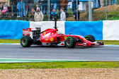 Team Scuderia Ferrari F1, Fernando Alonso, 2014 — Stok fotoğraf