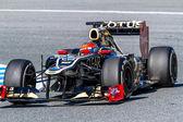 チーム ・ ロータス ルノー f1、2012年ロマン ・ グロージャン — ストック写真
