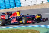 Team Red Bull F1, Sebastian Vettel, 2012 — Stok fotoğraf