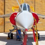 Aircraft Dassault Mirage F1 — Stock Photo #48386133