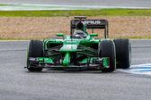 Team Caterham F1, Kamui Kobayashi, 2014 — Stock Photo