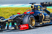 Team Lotus Renault F1, Romain Grosjean, 2012 — Stock Photo