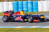 Team Red Bull F1, Sebastian Vettel, 2012 — Stock Photo