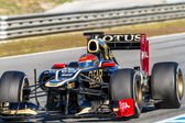 Lotus team renault f1, romain grosjean, 2012 — Foto Stock