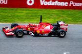 Team Scuderia Ferrari F1, Kimi Raikkonen, 2014 — Stock Photo