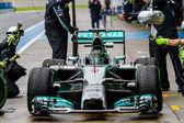 Team Mercedes F1, Nico Rosberg, 2014 — Stock Photo