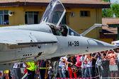 Aircraft Dassault Mirage F1 — Stock Photo