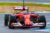 Team Scuderia Ferrari F1, Fernando Alonso, 2014 — Stockfoto