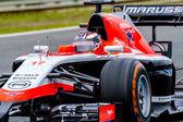 Team Marussia F1, Jules Bianchi, 2014 — Foto de Stock