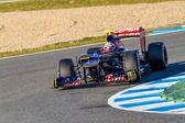 Team Toro Rosso F1, Jean Eric Vergne, 2012 — Stock Photo