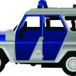 Uaz car - Stock Vector