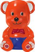Bear vector toy — Stock Vector