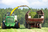 Silage Season — Stock Photo