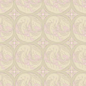 Floral retro pattern — Stock Vector