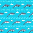 Stock Vector: Dolphins