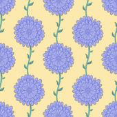Lila blommor — Stockvektor