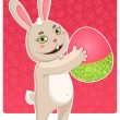 Easter bunny — Stock Vector #18578489