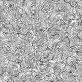 Gray line waves — Stock Vector