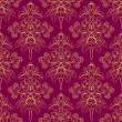Foliate purple pattern — Image vectorielle
