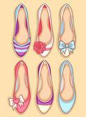 Kadın ayakkabı — Stok Vektör