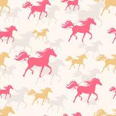 Vzpínajícího koně — Stock vektor