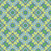 Green and blue pattern — Stok Vektör