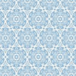 Beautiful blue hexagonal pattern — Stock Vector