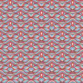Gestreepte blauwe en roze patroon — Stockvector