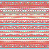 Tribal pink and blue pattern — Stock Vector