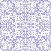Purple abstract floral pattern — Stock Vector