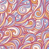 Purple line swirls — Stock Vector