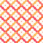 Vintage geometric pattern — Stock Vector