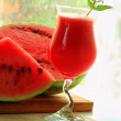 Water-melon smoothie — Stock Photo #13364126