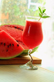 Water-melon smoothie — Stock Photo