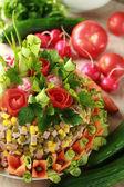 Torta di verdura — Foto Stock