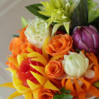 Stock Photo: Bouquet from vegetables