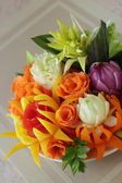 Bouquet from vegetables — Stock Photo
