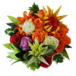 Stock Photo: Flowers from vegetables